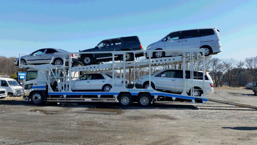 石川商事陸運 運搬車両