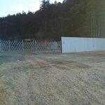 野尻プラント-仮囲い写真